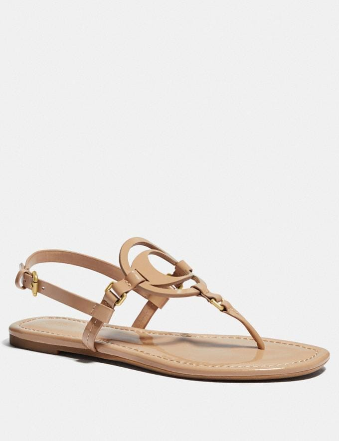 Coach Jeri Sandal Beechwood Gifts For Her Under $100