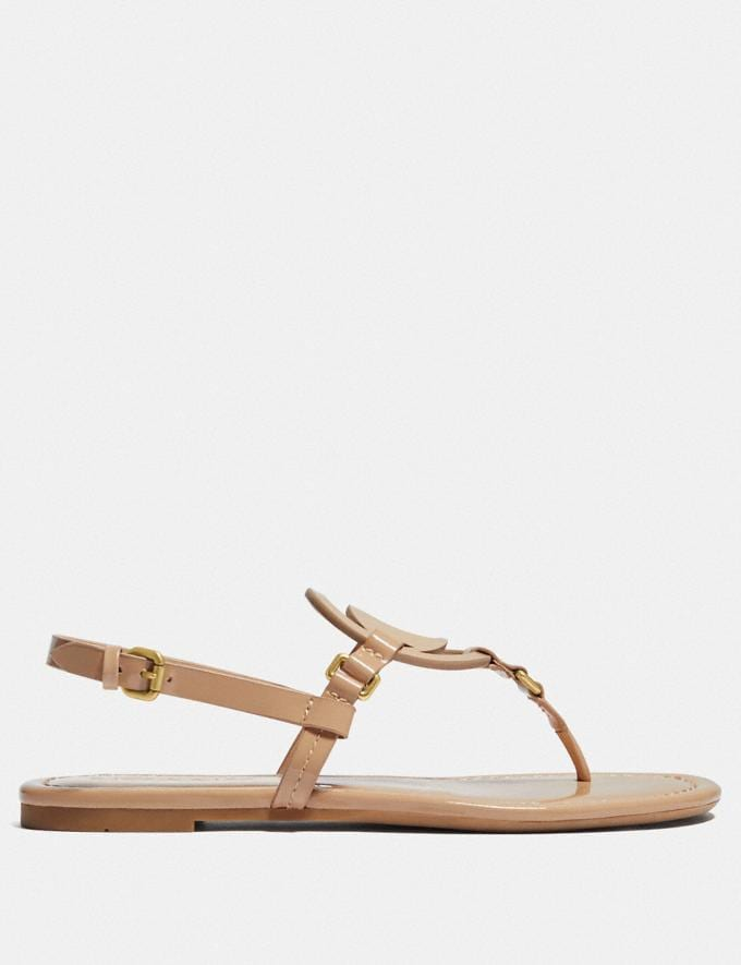 Coach Jeri Sandal Beechwood Gifts For Her Under $100 Alternate View 1