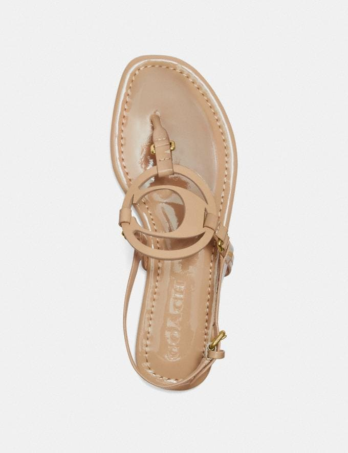 Coach Jeri Sandal Beechwood Gifts For Her Under $100 Alternate View 2