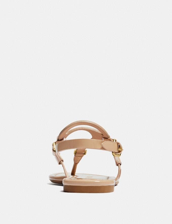 Coach Jeri Sandal Beechwood Gifts For Her Under $100 Alternate View 3
