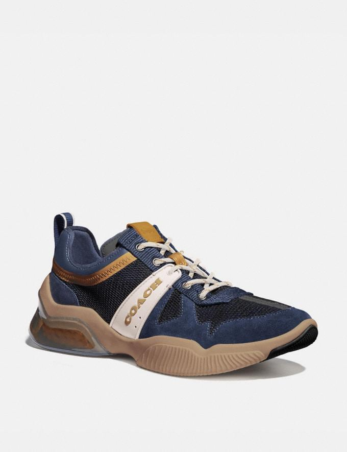 Coach Citysole Runner Deep Sky True Navy Men Shoes Trainers