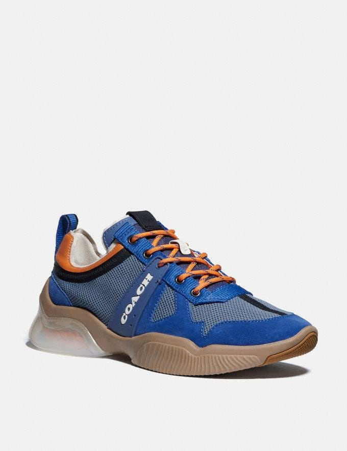 Coach Citysole Runner Deep Sky Clementine Men Shoes Trainers