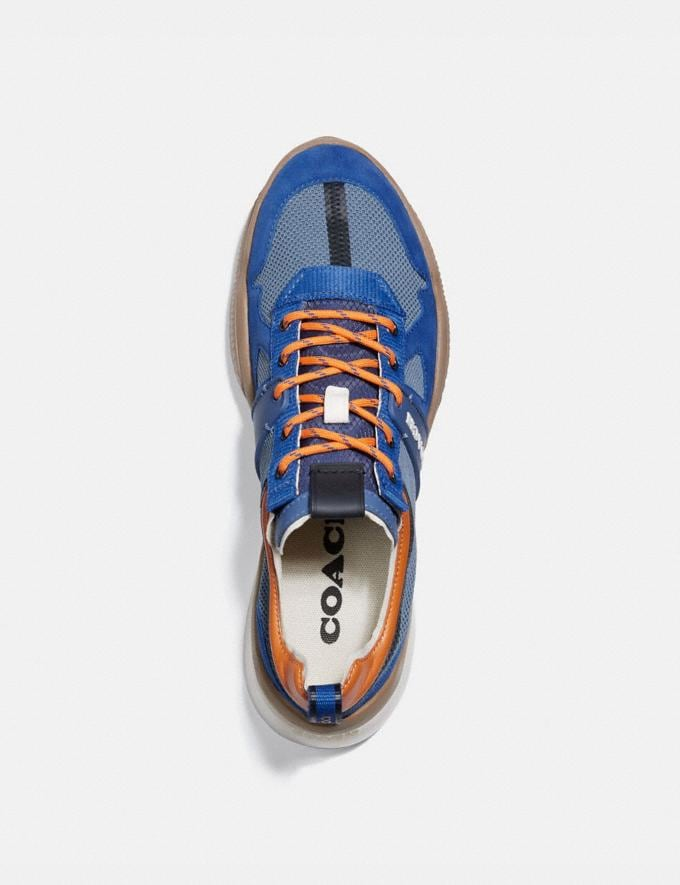 Coach Citysole Runner Deep Sky Clementine Men Shoes Trainers Alternate View 2