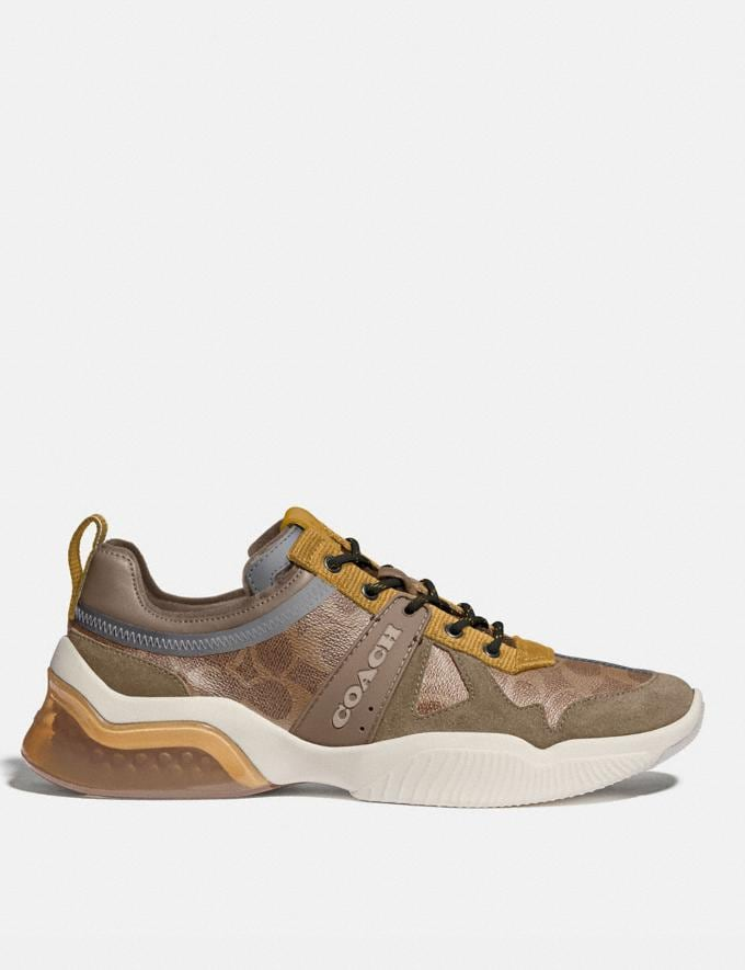 Coach Citysole Runner Khaki Flax Men Shoes CitySole Alternate View 1