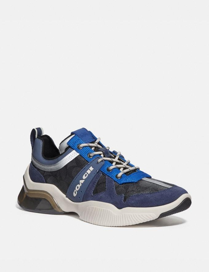 Coach Citysole Runner Charcoal True Navy Men Shoes