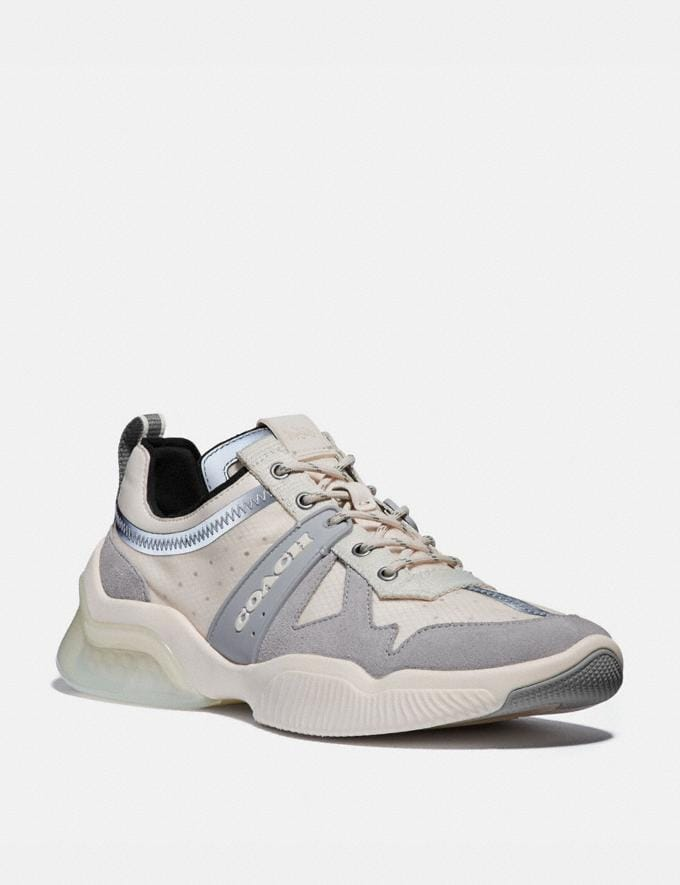 Coach Citysole Runner Chalk Men Shoes Trainers
