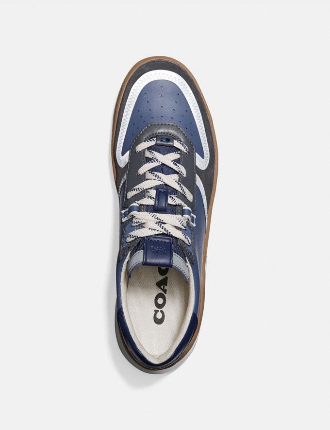 Coach Citysole Court Sneaker in Colorblock Blue Mist Grey New Men's New Arrivals Shoes Alternate View 2