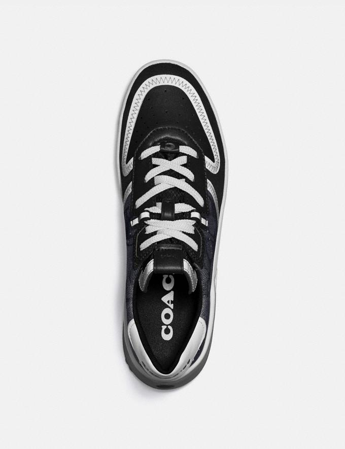 Coach Citysole Court Sneaker Charcoal/Black Men Shoes Trainers Alternate View 2