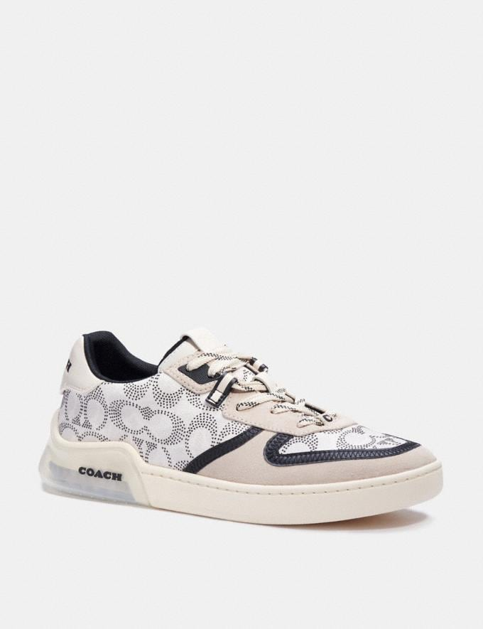 Coach Citysole Court Sneaker Charcoal Pollen New Men's New Arrivals