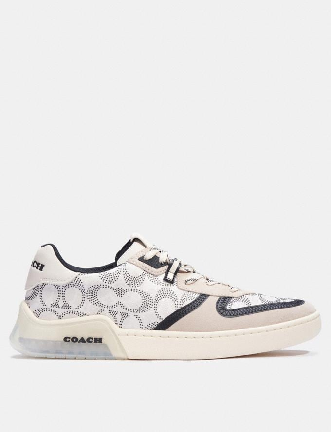 Coach Citysole Court Sneaker Charcoal Pollen New Men's New Arrivals Alternate View 1