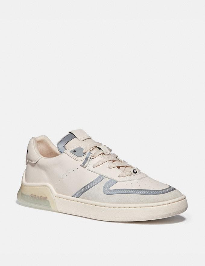 Coach Citysole Court Sneaker Chalk New Featured CitySole For Him