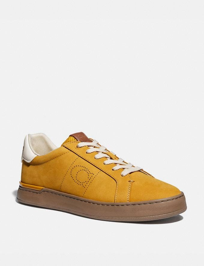 Coach Lowline Low Top Sneaker Flax Men Shoes