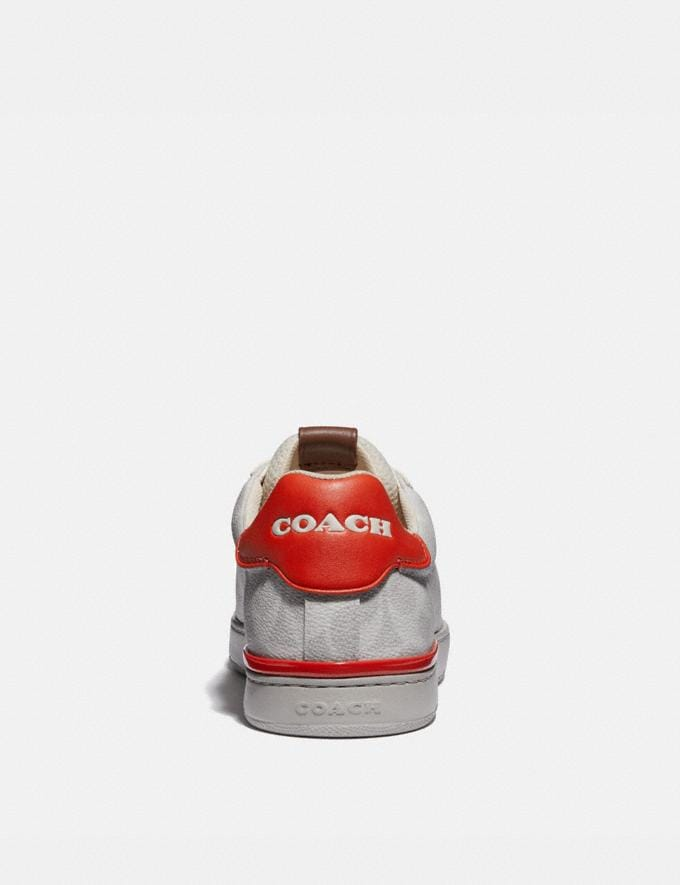 Coach Lowline Low Top Sneaker Chalk Mango Men Edits Work Alternate View 3