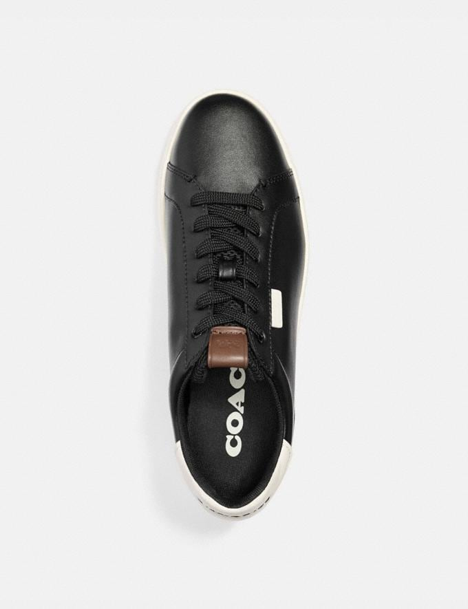 Coach Lowline Low Top Sneaker Black/Chalk Men Shoes CitySole Alternate View 2