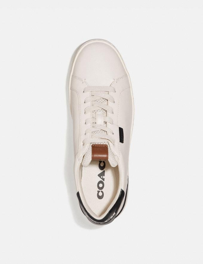 Coach Lowline Low Top Sneaker Chalk/Black New Men's New Arrivals Alternate View 2