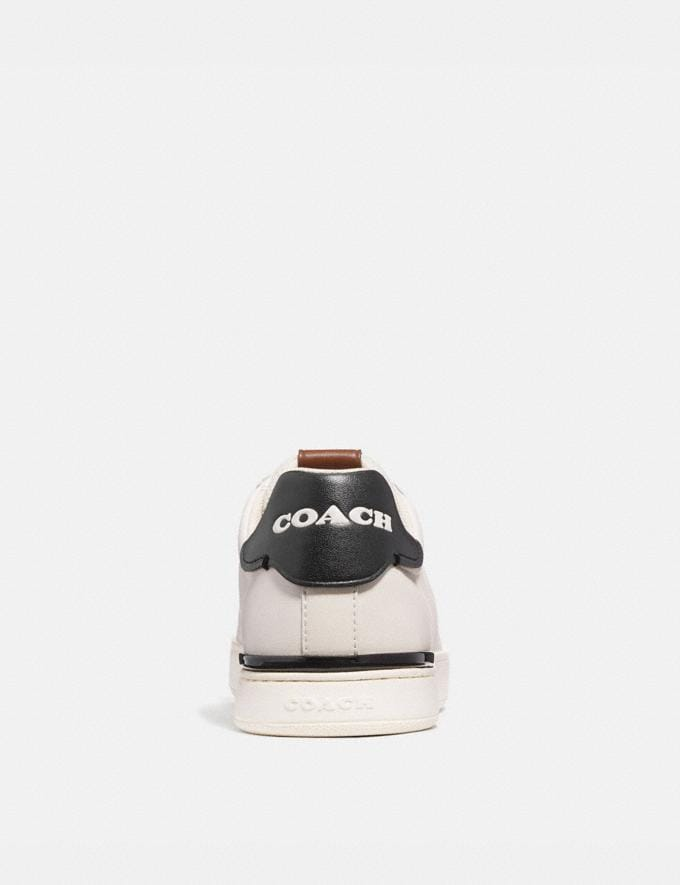 Coach Lowline Low Top Sneaker Chalk/Black Men Edits Work Alternate View 3