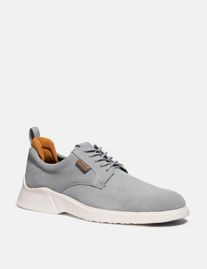 Coach Citysole Derby Washed Steel Men Shoes Casual