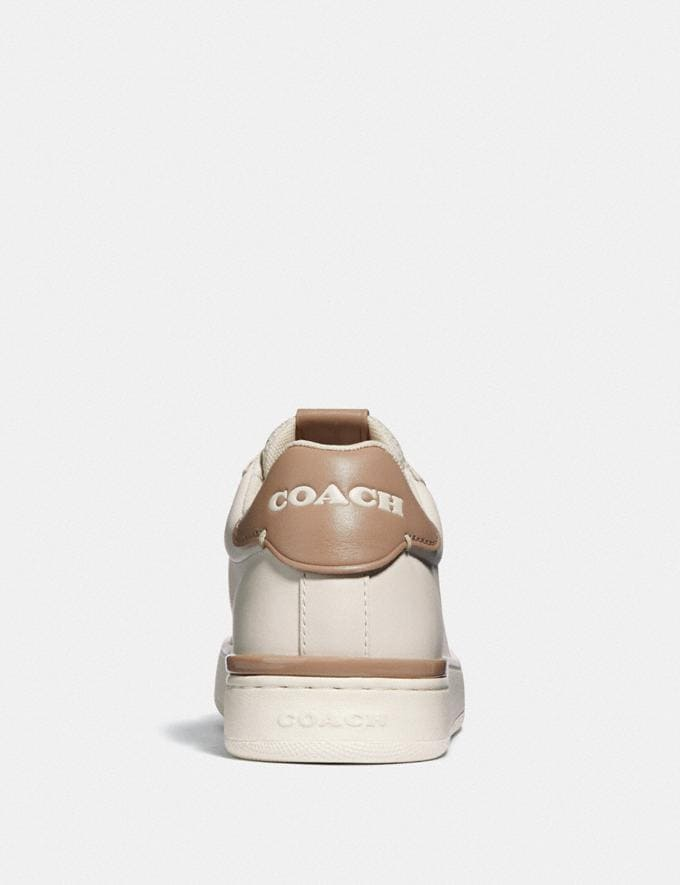 Coach Lowline Low Top Sneaker Chalk/Taupe New Women's New Arrivals Shoes Alternate View 3