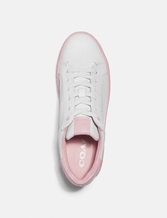 Coach Lowline Low Top Sneaker WeiSS/Aurora  Alternative Ansicht 2