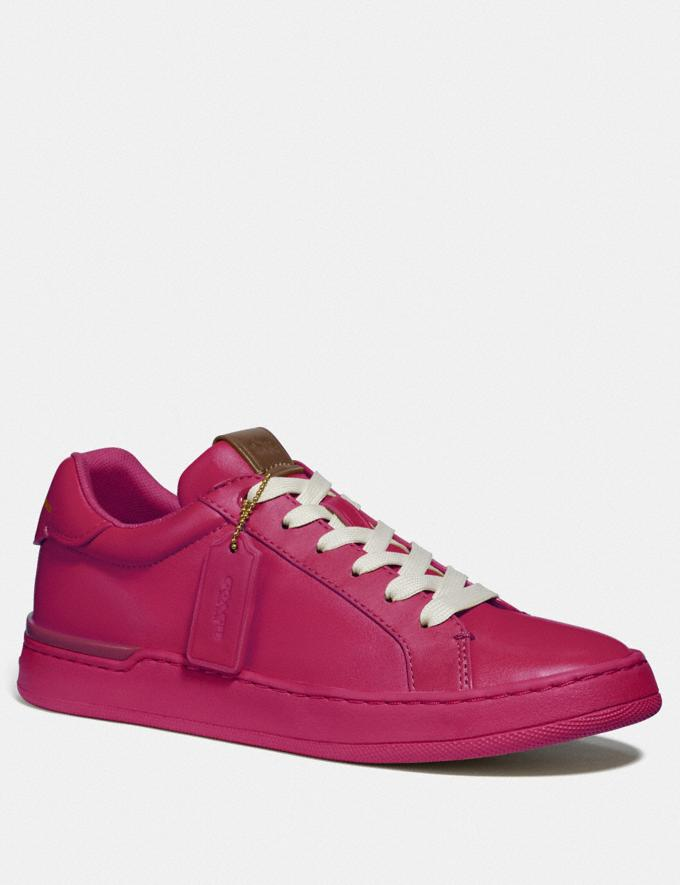 Coach Lowline Luxe Low Top Sneaker Hyacinth Women Shoes Trainers