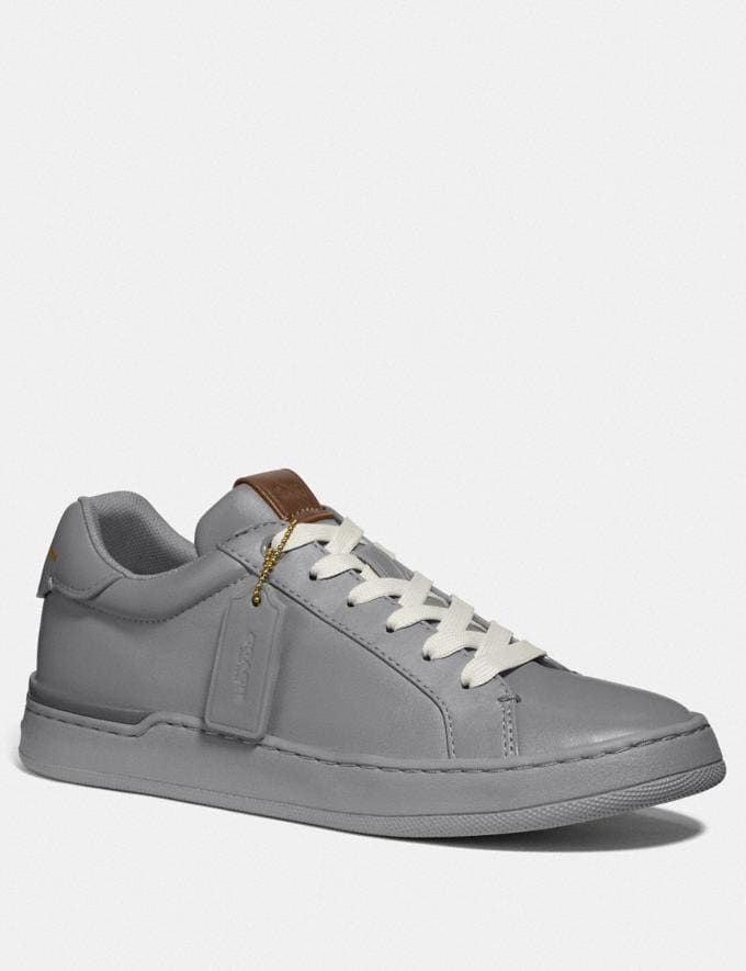 Coach Lowline Luxe Low Top Sneaker Granite