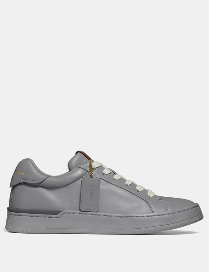 Coach Lowline Luxe Low Top Sneaker Granite  Alternate View 1