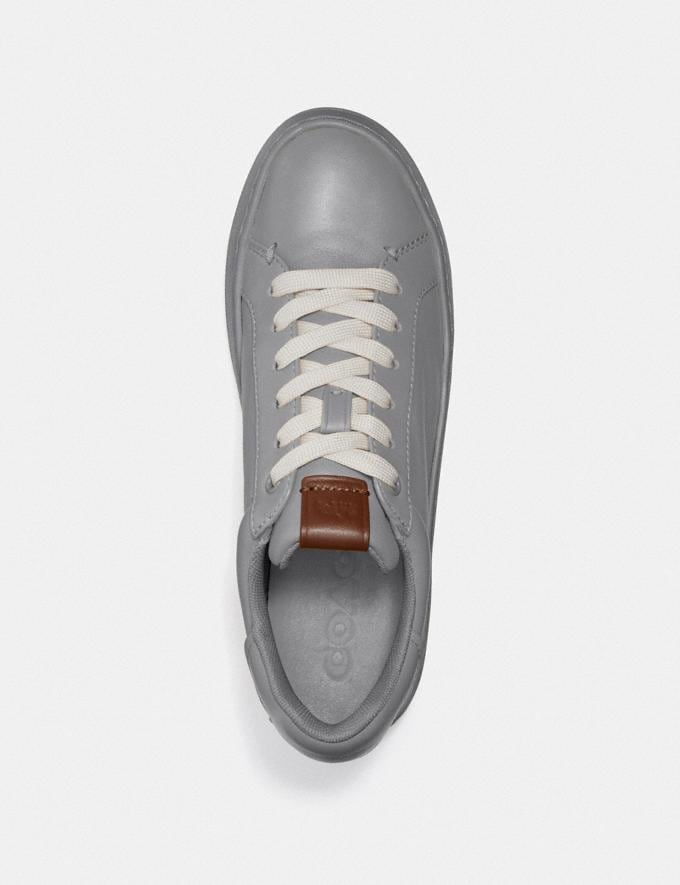 Coach Lowline Luxe Low Top Sneaker Granite  Alternate View 2