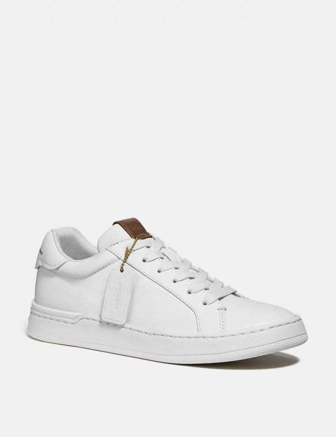 Coach Lowline Luxe Low Top Sneaker White Women Shoes CitySole