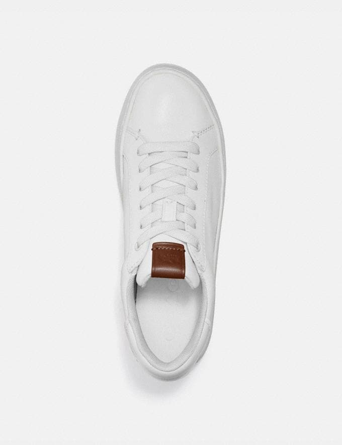 Coach Lowline Low Top Sneaker White Women Shoes CitySole Alternate View 2