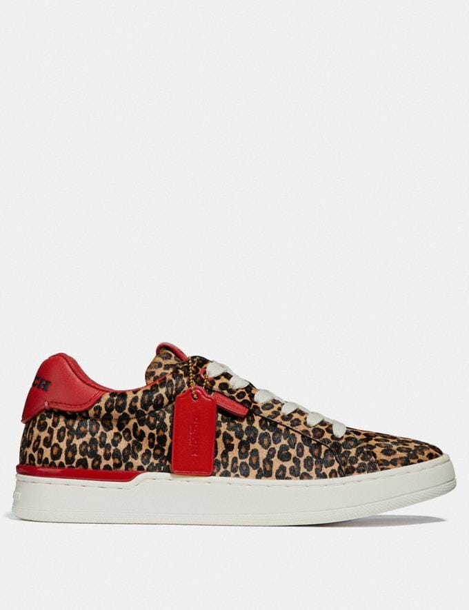 Coach Lowline Luxe Low Top Sneaker Natural/Jasper New Featured CitySole For Her Alternate View 1