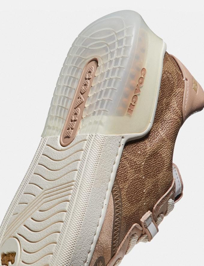 Coach Citysole Court Sneaker Tan/Beechwood New Featured Jennifer Lopez's Picks Alternate View 5