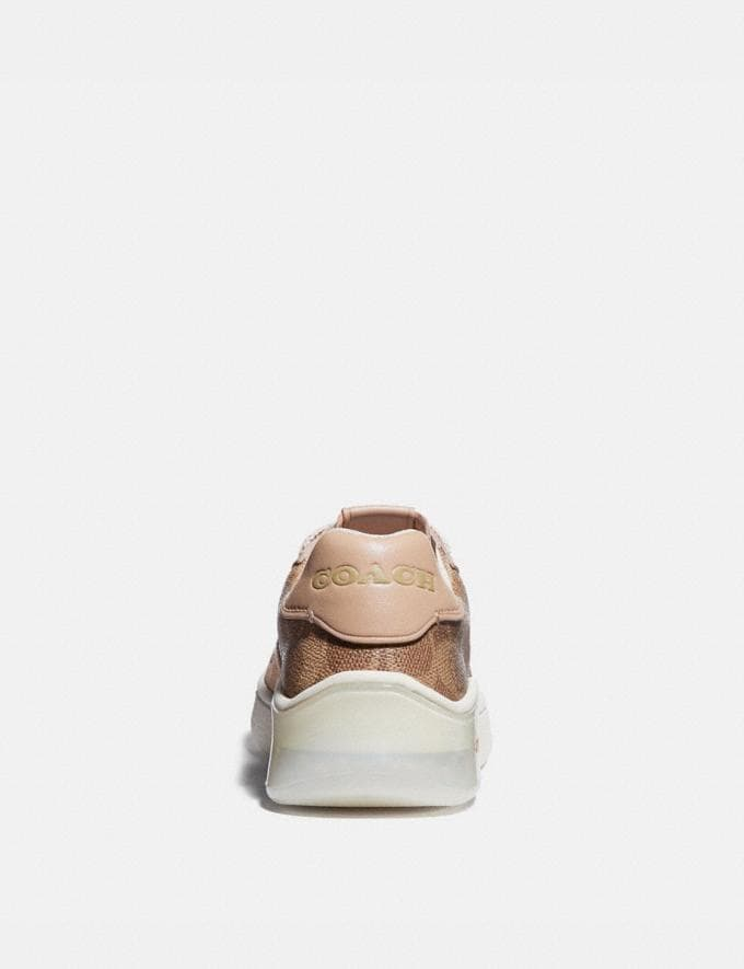 Coach Citysole Court Sneaker Tan/Beechwood New Featured Jennifer Lopez's Picks Alternate View 3