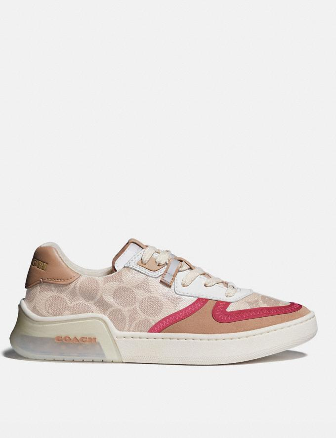 Coach Citysole Court Sneaker Sand/Beechwood  Alternate View 1