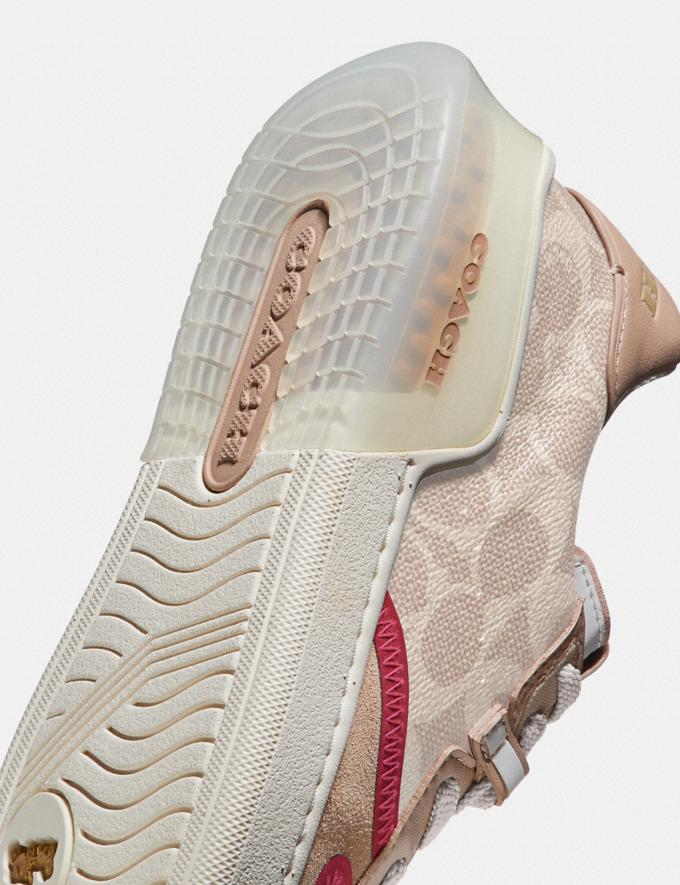Coach Citysole Court Sneaker Sand/Beechwood  Alternate View 5