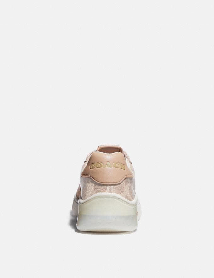 Coach Citysole Court Sneaker Sand/Beechwood  Alternate View 3