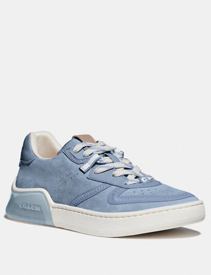 Coach Citysole Court Sneaker Bluebell New Women's New Arrivals Shoes
