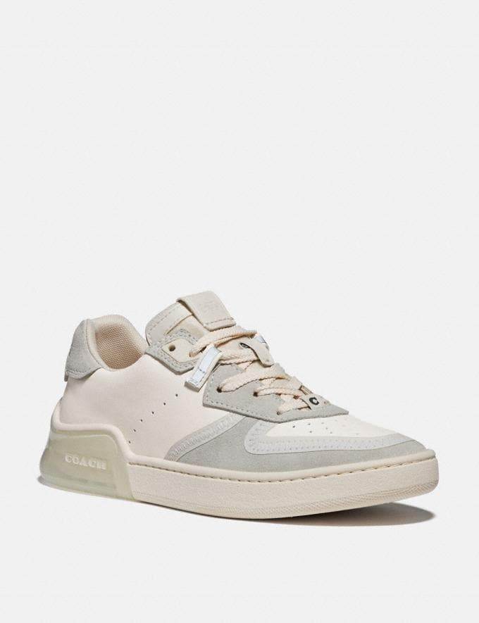 Coach Citysole Court Sneaker Chalk New Women's New Arrivals Shoes