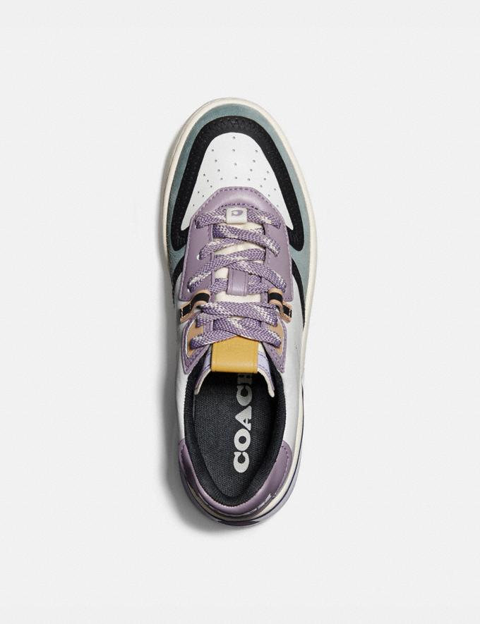 Coach Citysole Court Sneaker White/Soft Lilac New Featured CitySole For Her Alternate View 2