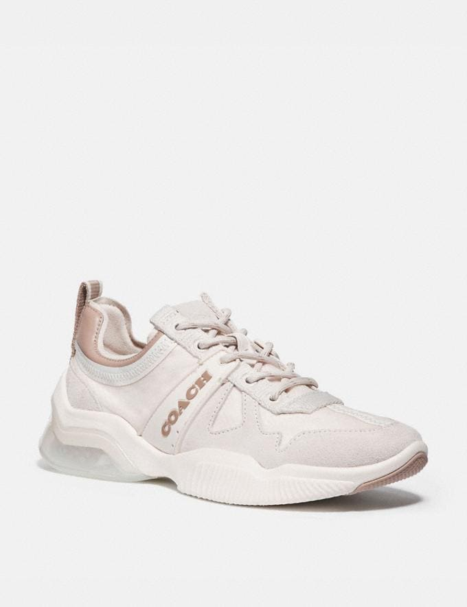 Coach Citysole Runner Chalk/Taupe Women Shoes Trainers