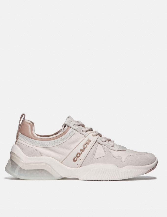 Coach Citysole Runner Chalk/Taupe Women Shoes Trainers Alternate View 1