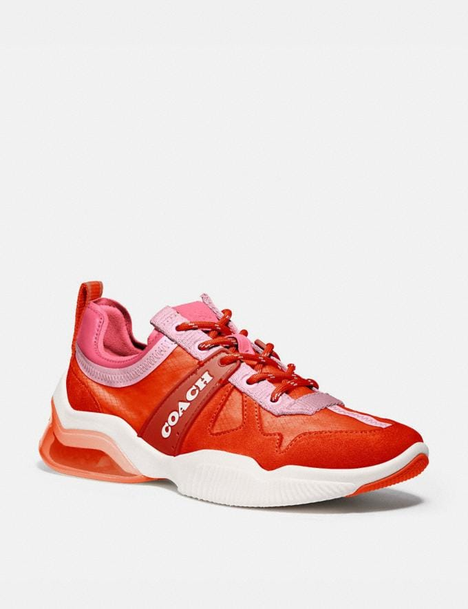 Coach Citysole Runner Geranium/Orchid Women Shoes Trainers