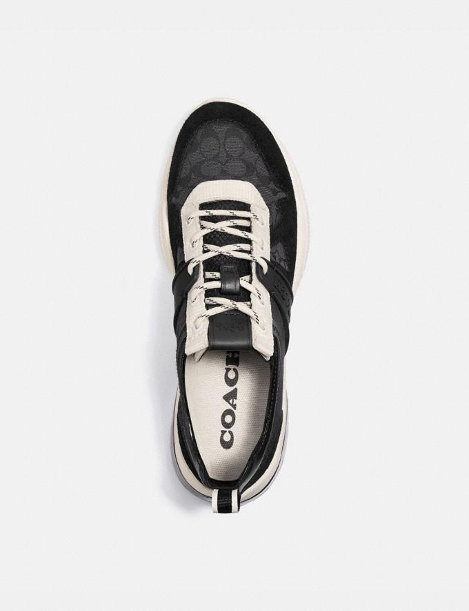 Coach Runner Citysole Craie Noire Femme Chaussures Tennis Autres affichages 2