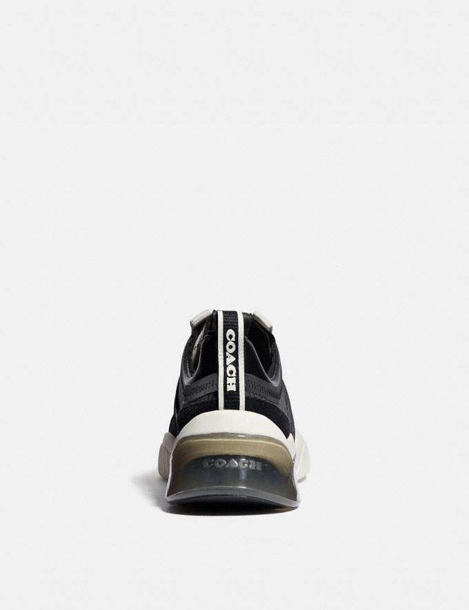 Coach Runner Citysole Craie Noire Femme Chaussures Tennis Autres affichages 3