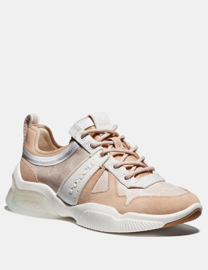 Coach Citysole Runner Sand/Beechwood Women Shoes