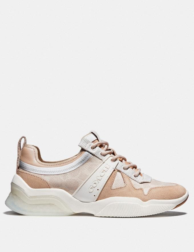 Coach Citysole Runner Sand/Beechwood Women Shoes Alternate View 1