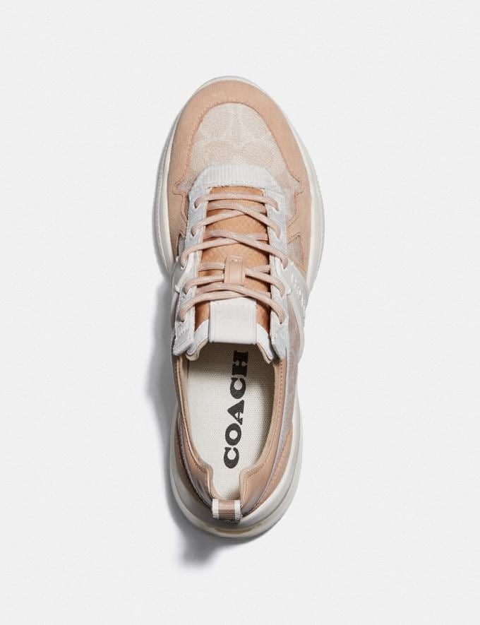 Coach Citysole Runner Sand/Beechwood New Women's New Arrivals Alternate View 2