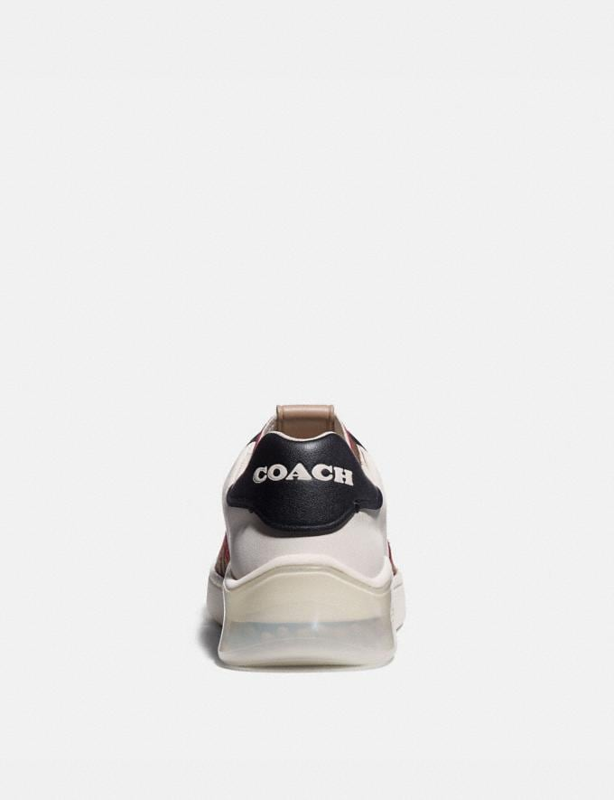 Coach Citysole Court Sneaker Chalk/Black Camel New Featured CitySole For Her Alternate View 3