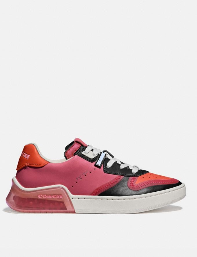 Coach Citysole Court Sneaker Orchid/Geranium Women Shoes Sneakers Alternate View 1