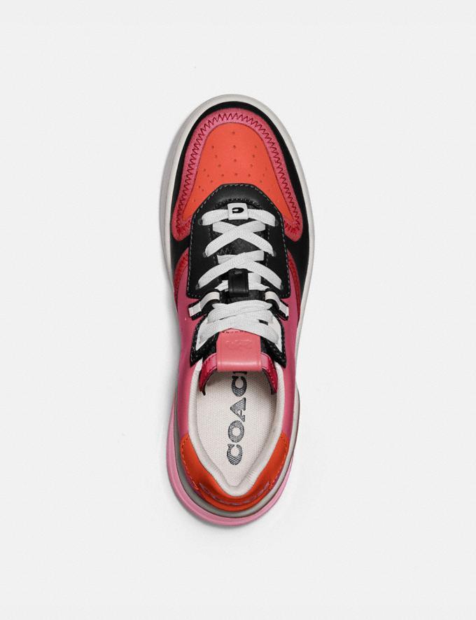Coach Citysole Court Sneaker Orchid/Geranium New Women's New Arrivals Shoes Alternate View 2