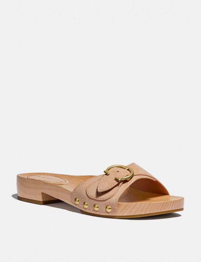 Coach Bleeker Sandal Beechwood Women Shoes Sandals